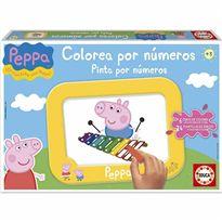 Colorea por numeros peppa pig - 04015671