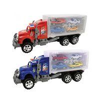 Camion transportador con 4 coches - 89815697