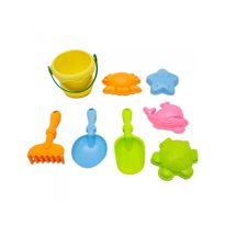 Cubo soft con accesorios playa - 87807877