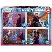 Puzzle multi 4 frozen 2 50+80+100+150 - 04018640