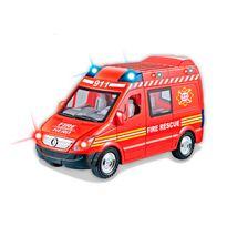Camion bomberos con luz y sonido - 87809167(1)
