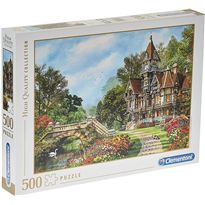 Puzzle 500 old waterway cottage - 06635048