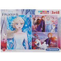 Puzzle 3x48 frozen - 06625240
