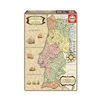 Puzzle 500 mapa historico portugal - 04018223