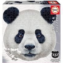 Puzzle 353 oso panda silueta - 04018476