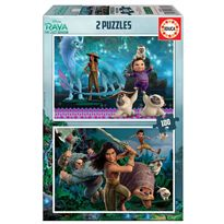 Puzzle 2 x 100 raya y dragon - 04018883