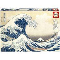 Puzzle 500 gran ola de kanagawa - 04019002