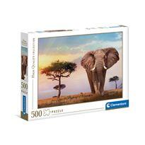 Puzzle 500 puesta de sol en africa - 06635096