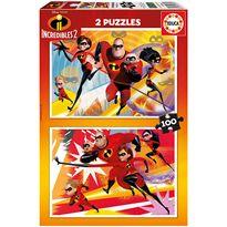 Puzzle 2x100 increibles - 04017636