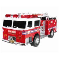 Camión de bomberos con luz y sonido a fricción 34c - 89817145(1)