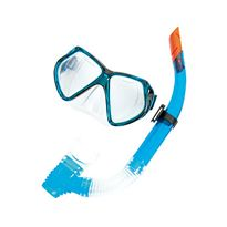 Set de máscara de silicona y snorkel, edad: +14 añ - 86724005